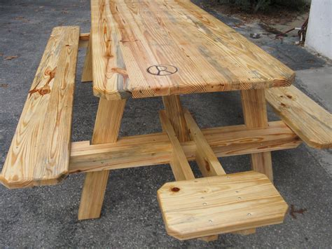 wood picnic benches ocala hardwoods sawmill by robert ross of wood crafting