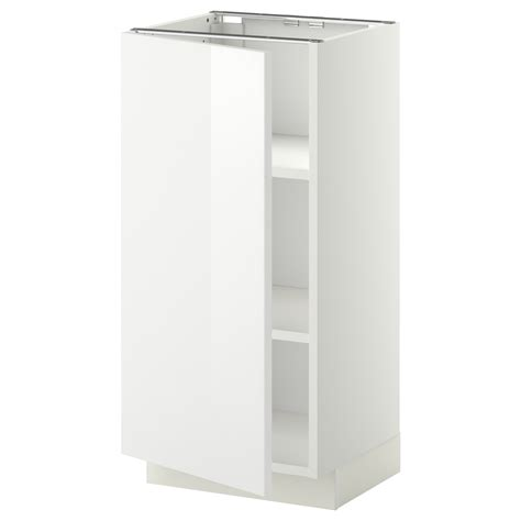 white kitchen base cabinets metod base cabinet with shelves white ringhult white 40x37