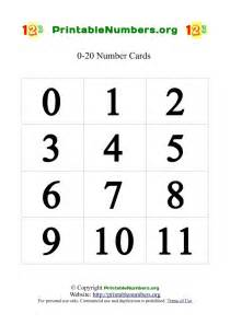 Printable Number Free Coloring Pages Of Numbers 0 9