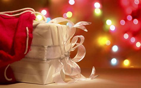 the festive christmas gifts photography wallpaper 4
