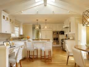 Kitchen Lighting Vaulted Ceiling Photo Page Hgtv
