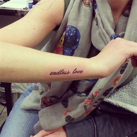 endless love tattoo my endless