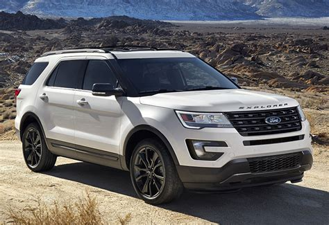 Ford Explorer Sport 2017 Ford Explorer Sport U502 Specifications Photo