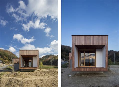 wooden box japanese architecture small houses