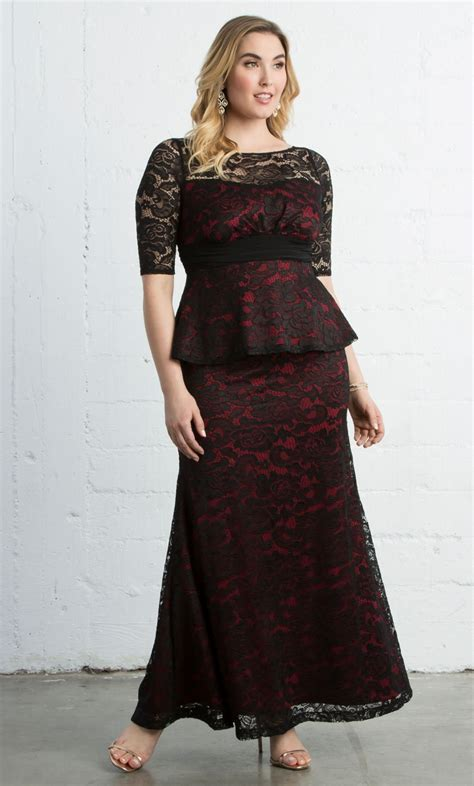 the best plus sized evening gowns plus size evening gown kiyonna plus size formal gowns