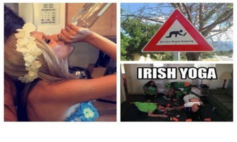 Irish Yoga Meme - brankin people cresting irish yoga irish meme on sizzle