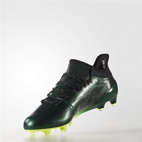 adidas x 17 1 adidas x 17 1 fg thunder storm metallic green core