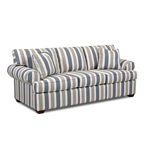 Lady Striped Sofa Klaussner Furniture Sofas Sofas