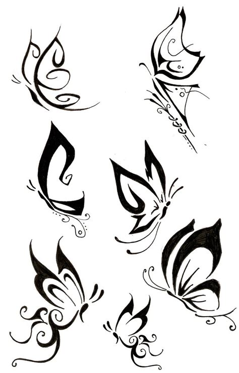 small tribal butterfly tattoos tribal butterflies tattoos designs