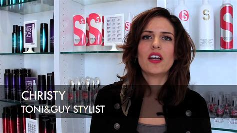 youtube toni and guy hairstyles toni guy haircut makeover long curly look to short