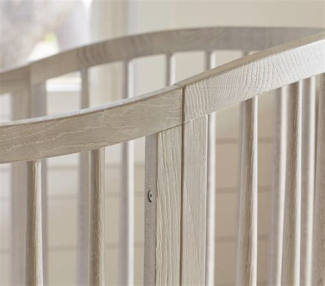 Oval Shaped Crib by Oval Crib Conversion Kit Pottery Barn