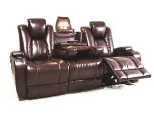 Theater Sectional Reclining Sofa Synergy Home Furnishings Living Room Naples Power Reclining Theater Sofa 040103 Furniture Fair