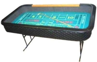 Portable Craps Table 10 Foot Portable Premium Craps Table Portable Craps Table