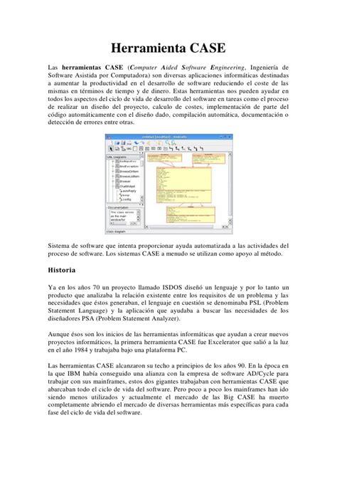 herramienta case herramienta case