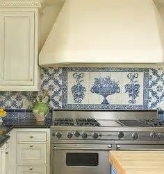 blue and white tile backsplash 1000 images about blue white tiled kitchen on pinterest
