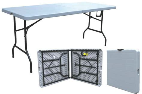 Folding Tables On Sale by Outdoor Vintage Style Folding Table Half Fold Table 6ft
