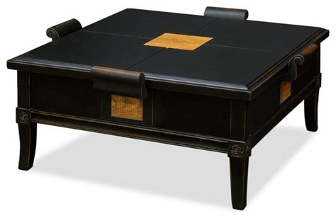 houzz square coffee table china furniture and arts elmwood zhou yi square coffee