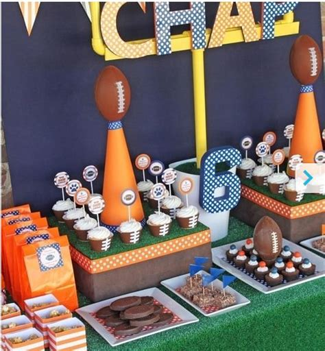 sports themed decorations the best sports birthdays 15 ideas tip junkie