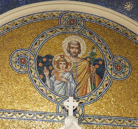 pattern energy st joseph photo saint joseph with the child jesus mosaic jeff