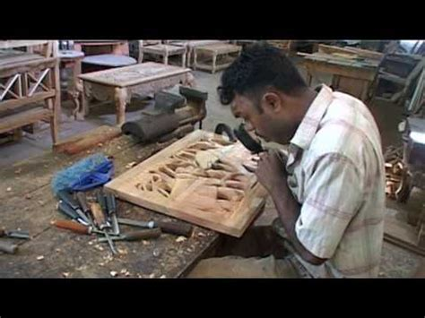 sri lanka traditional wood carving youtube