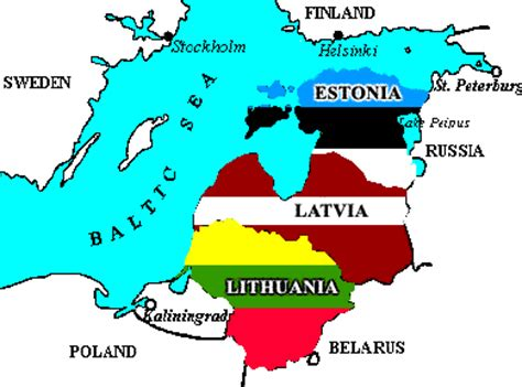which countries are known as the baltic nations? why are