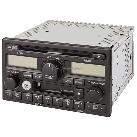 honda odyssey 2004 radio code 2004 honda odyssey radio or cd player parts from car parts