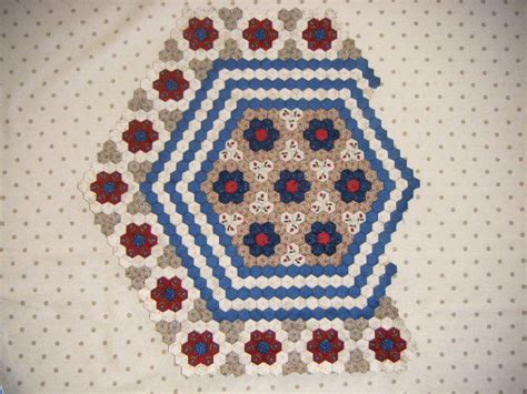 Gum Valley Patchwork - hexagon quilt update gum valley patchwork