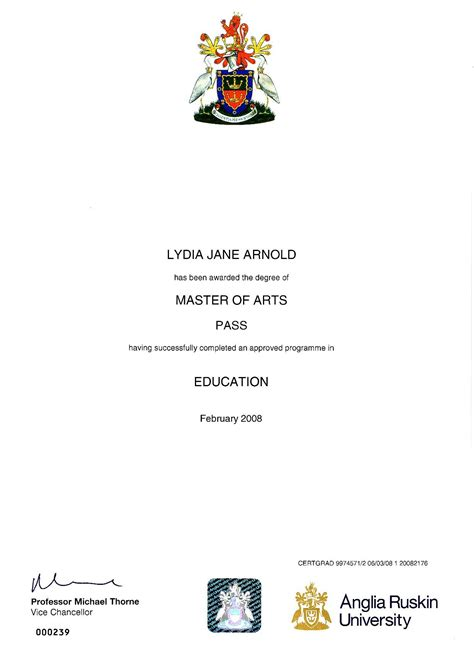 Anglia Ruskin Mba Certificate by Alldownloaderbr11