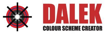 color scheme creator 1963 dalek colour scheme creator the doctor who site