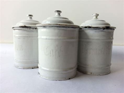 white canister set with spoons thechapelnet