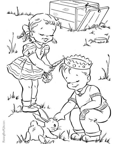 christmas bunny coloring pages easter bunny coloring sheet 003