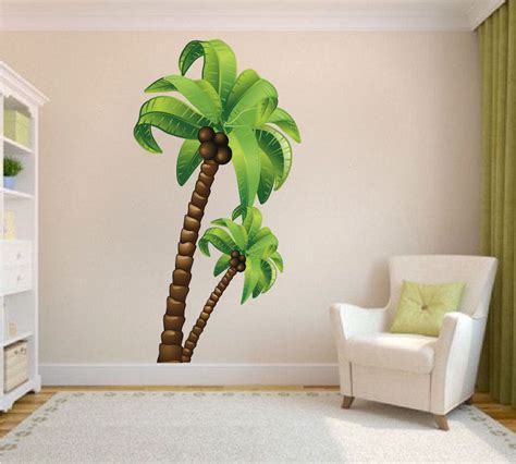 wall decal murals palm tree wall mural decal large wall decal murals