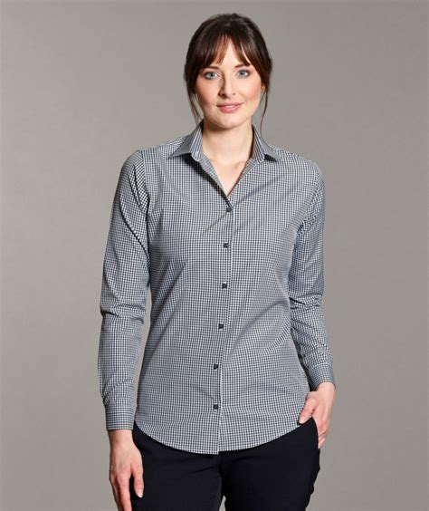 Chece Blouse gingham check blouse