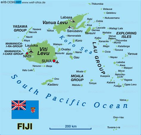 map of fiji map of fiji map in the atlas of the world world atlas