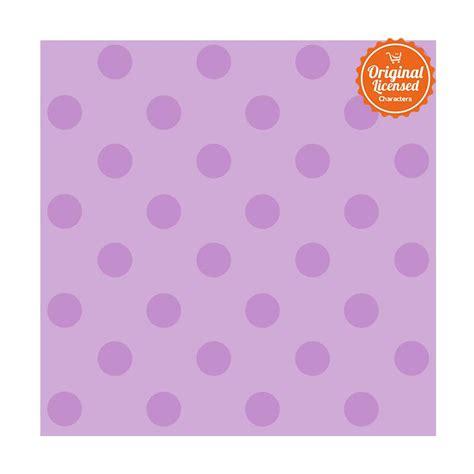 Wallpaper Dinding Polkadot   jual york polkadot purple wallpaper sticker dinding online
