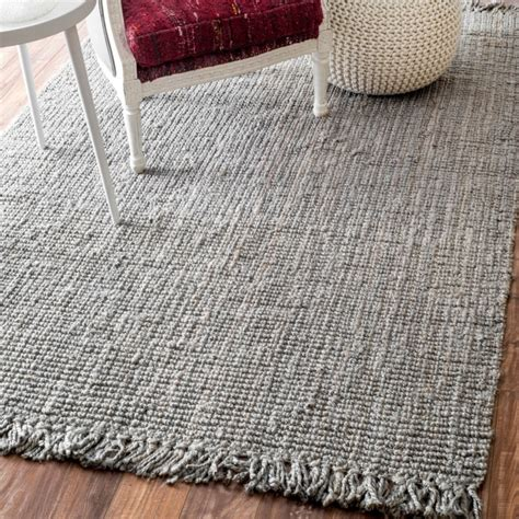 chunky loop jute rug a cottage in the city