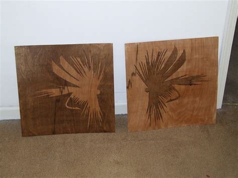 wood art stain dry fly wood stain stencil by poeticoddity on deviantart