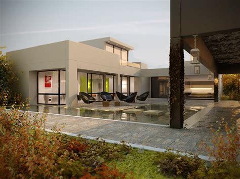 house with pool renders house with pool renders