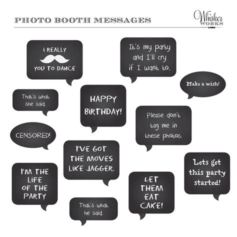 printable photo booth quotes free printable wedding photo booth props templates quotes