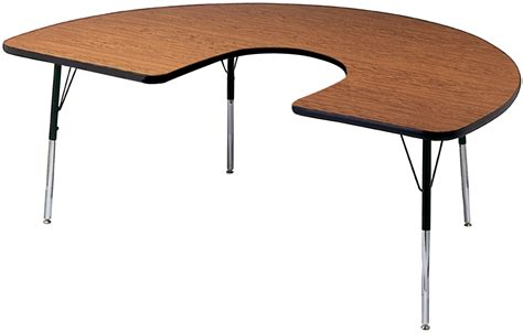 Horseshoe Shaped Desk by Classroom Select Activity Table Classroom Direct