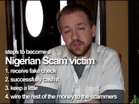 the nigerian scam youtube