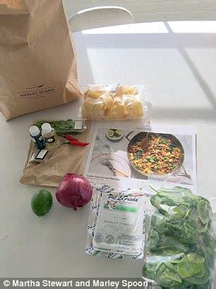 martha stewart gets into meal kit business, delivering