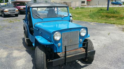 Jeep Cj3b 1953 Willys Jeep Cj3b For Sale Photos Technical