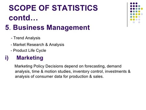 Scope Of Mba In Design Management by Statistics