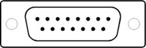 Konektor Db15 2 Baris Kabel Db 15 Cable Soket Socket general description
