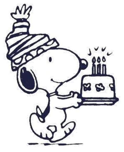 snoopy birthday clipart