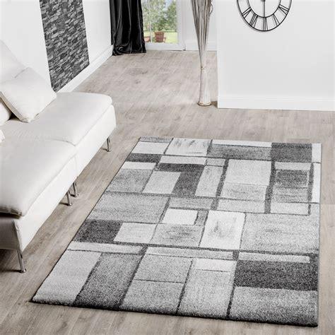 moderne kurzflorteppiche moderner teppich wohnzimmer velours teppiche gekachelt