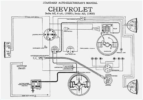 1955 Chevrolet Wiring Diagram