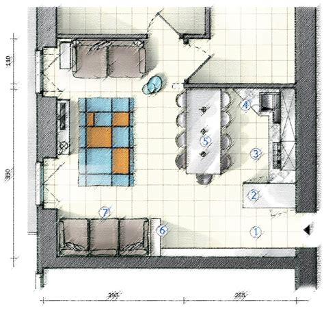 cucina soggiorno 20 mq in cucina definire le funzioni con le penisole progetto