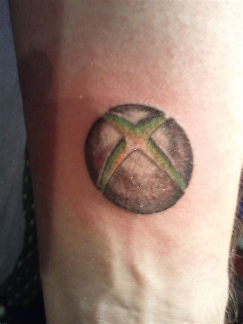Xbox Tattoo Ideas | 17 best images about gamer tattoos on pinterest bioshock